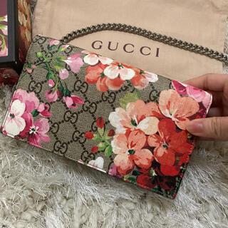 Gucci - GUCCI ショルダーバッグ ブルームス ピンク
