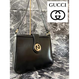 Gucci - 【美品】GUCCI オールドグッチ ハンドバッグ ショルダーバッグ レザー