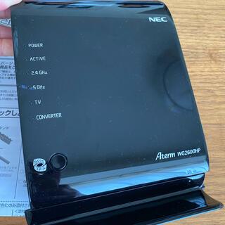 NEC - NEC Aterm WG2600HP 無線LAN