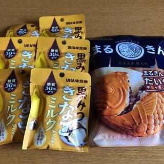 ユーハミカクトウ(UHA味覚糖)のUHA味覚糖 黒蜜きなこミルク たい焼き 和菓子キャンディ(菓子/デザート)