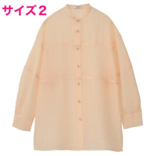 CLANE クラネ SWITCH SHEER SHIRT