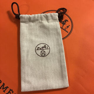 Hermes - エルメス 巾着袋 ショップ袋