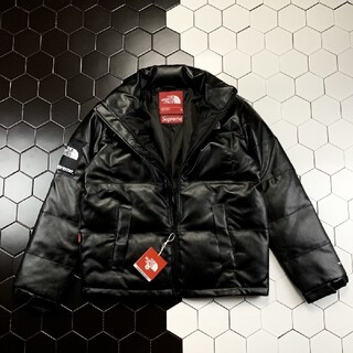THE NORTH FACE - 【XL】The North Face Leather Nuptse Jacke