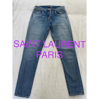 サンローラン(Saint Laurent)のサンローランパリ デニム エディ期 パンツ ジーンズ レディース24 希少(デニム/ジーンズ)