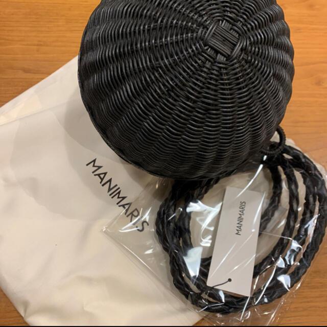 DEUXIEME CLASSE(ドゥーズィエムクラス)のmanimarisフルムーンバスケット レディースのバッグ(ショルダーバッグ)の商品写真
