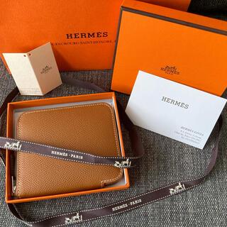 Hermes - HERMES アザップ シルクイン コンパクト財布