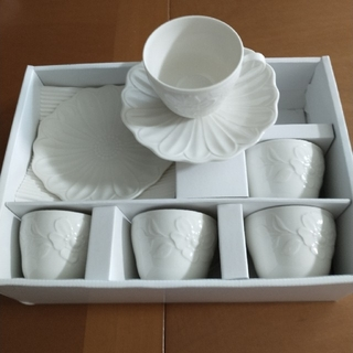 ジバンシィ(GIVENCHY)のジバンシィ カップ&ソーサー 5客セット(食器)