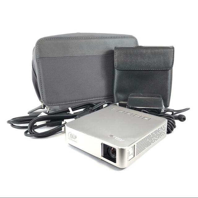 ASUS(エイスース)のASUS エイエース S1 モバイルプロジェクター スマホ/家電/カメラのテレビ/映像機器(プロジェクター)の商品写真