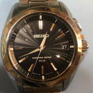 セイコー(SEIKO)のセイコーブライツ電波ソーラー時計 7B24 0AT0 相場よりかなり安くしました(腕時計(アナログ))