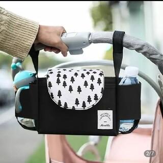 ❤新品❤グレーorブラック ベビーカーバッグ