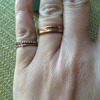 ティファニー(Tiffany & Co.)のティファニー1837ナローリング 美品(リング(指輪))