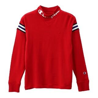 Champion - 新品 L champion golf ハイネック tシャツ プロ使用モデル 赤
