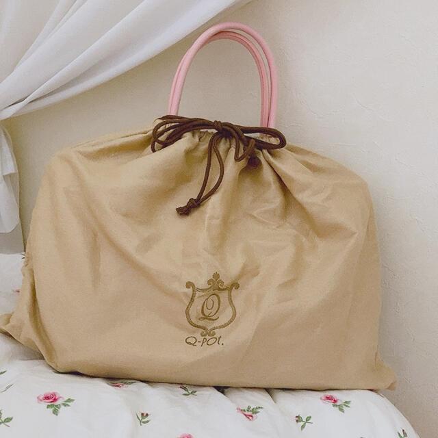 Q-pot.(キューポット)のストロベリーチョコレートトートバッグ Q-pot. レディースのバッグ(トートバッグ)の商品写真