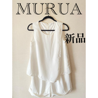 ムルーア(MURUA)の新品タグ付⭐︎MURUA オールインワン(オールインワン)