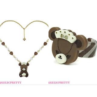 Bear's Chocolaterieカフェset