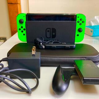 ニンテンドースイッチ(Nintendo Switch)のニンテンドースイッチ 緑/緑(家庭用ゲーム機本体)