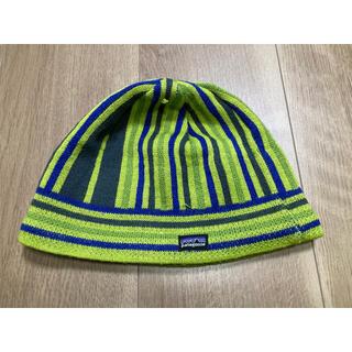 パタゴニア(patagonia)のパタゴニア ニット帽 Kids L(帽子)