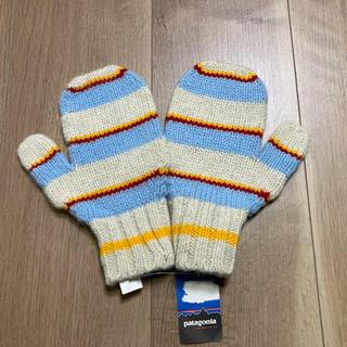パタゴニア(patagonia)のパタゴニア 手袋 未使用 Kids M/L(手袋)