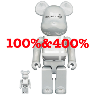メディコムトイ(MEDICOM TOY)のBE@RBRICK MEDICOM TOY PLUS 100% & 400%(その他)