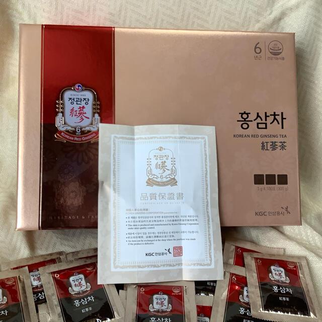 正官庄 高麗人参茶30包 免疫力アップ! 食品/飲料/酒の健康食品(健康茶)の商品写真