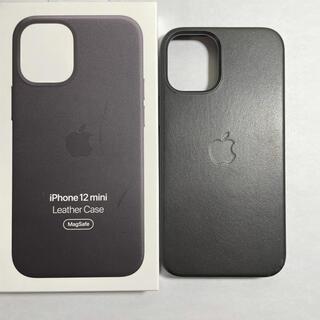 Apple - iPhone 12 mini  純正レザーケース