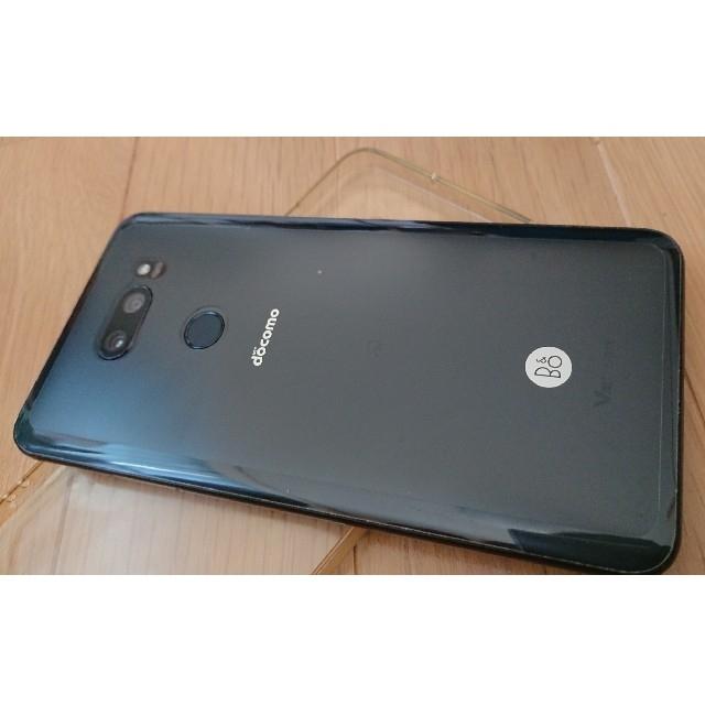 LG Electronics(エルジーエレクトロニクス)のSIMフリー docomo L-01K ブラック スマホ/家電/カメラのスマートフォン/携帯電話(スマートフォン本体)の商品写真