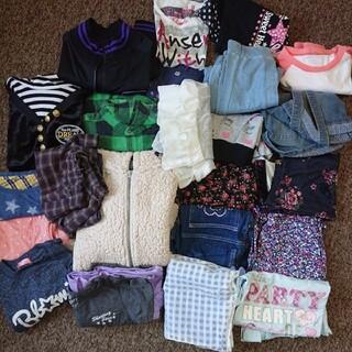 まとめ売り 服 女児 女の子 140 150 160 サイズ 23点 セット