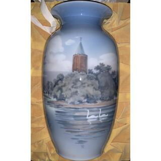 ロイヤルコペンハーゲン(ROYAL COPENHAGEN)のロイヤルコペンハーゲン アンティーク 花瓶(陶芸)