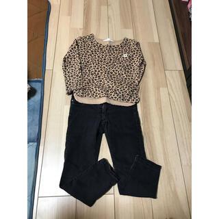 エイチアンドエム(H&M)のレオパード柄セット(Tシャツ/カットソー)