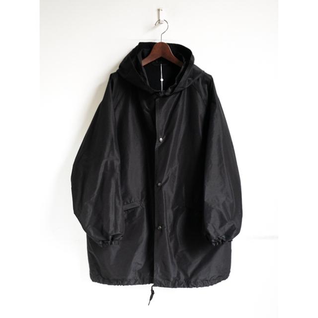 COMOLI(コモリ)のCOMOLI 21SS コットンシルクフーデッドコート サイズ3 新品未使用 メンズのジャケット/アウター(モッズコート)の商品写真