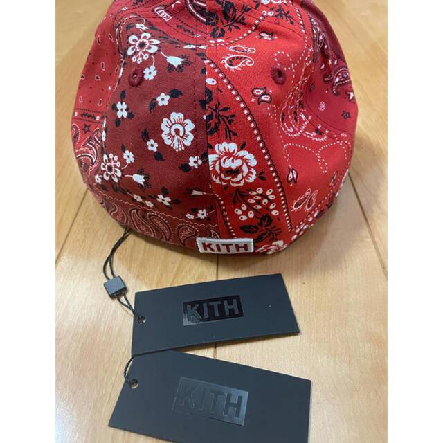 Supreme(シュプリーム)のKith New Era Yankees Bandana Low 7 5/8 メンズの帽子(キャップ)の商品写真