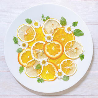 【訳あり】押しフルーツ オレンジとレモンの柑橘セット(各種パーツ)