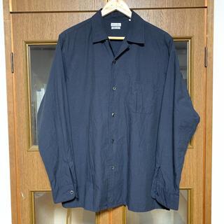スティーブンアラン(steven alan)のXL<Steven Alan> C/W タイプライターオープンカラーシャツ(シャツ)