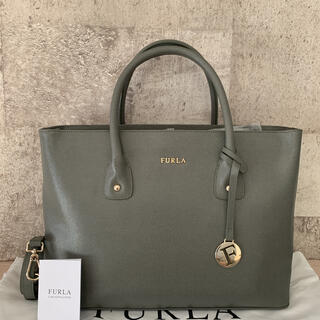Furla - 【極美品】◆ FURLA   オールレザー 2WAYハンドバッグ ◆