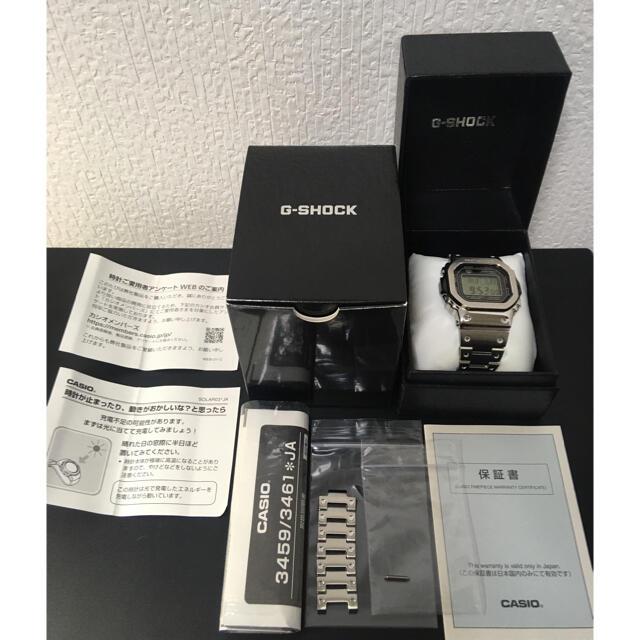 G-SHOCK(ジーショック)の【美品】G-SHOCK GMW-B5000D-1JF メンズの時計(腕時計(デジタル))の商品写真