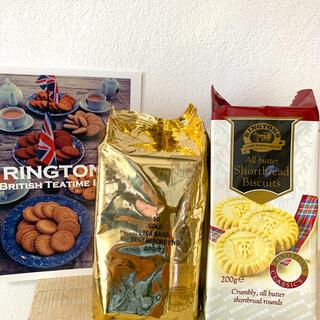 リントンズ 紅茶 GOLD 50 ショートブレッド(茶)