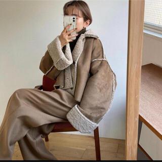 nokcha reversible eco mustang jacket(ブルゾン)