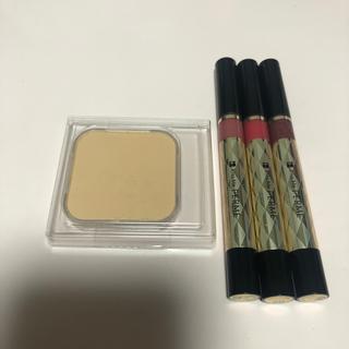 Kiss Me - 新品未使用♡キスミーフェルムパウダーファンデ替&紅筆リキッドルージュ3本セット