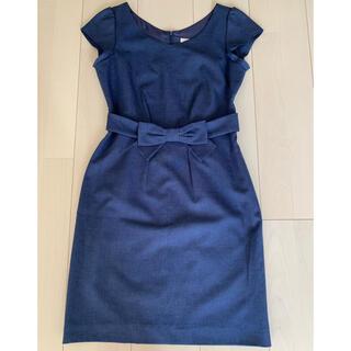 PROPORTION BODY DRESSING - プロポーションボディドレッシング ワンピース 紺色