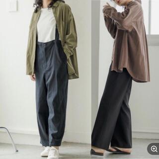 niko and... - ウォッシュド細コールシャツ