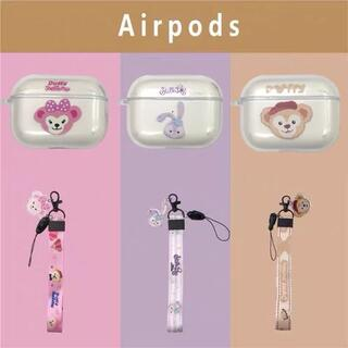 AirpodsProケース ダッフィー(その他)