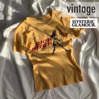 ヒステリックグラマー(HYSTERIC GLAMOUR)の夏服【vintage】ヒステリックグラマー レトロ プリント Tシャツ(Tシャツ/カットソー(半袖/袖なし))