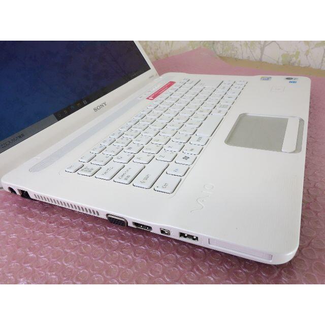 VAIO(バイオ)のVAIO 初めてのパソコン Win10 15.5インチ office DVD スマホ/家電/カメラのPC/タブレット(ノートPC)の商品写真