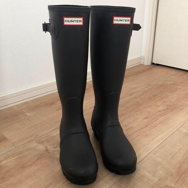 HUNTER(ハンター)のハンター レインブーツ 24センチ レディースの靴/シューズ(レインブーツ/長靴)の商品写真