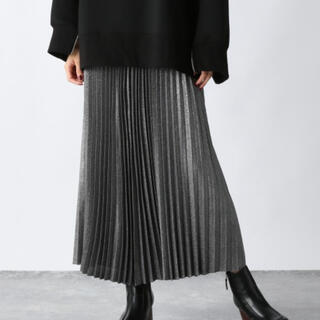 JEANASIS - JEANASIS リバーシブルシャンブレープリーツスカート