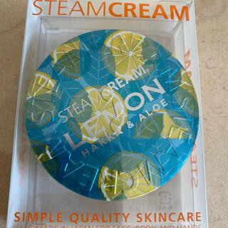 STEAM CREAM - スチームクリーム ハッカ&アロエ レモン 全身用保湿クリーム 顔 身体