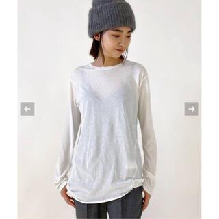 L'Appartement DEUXIEME CLASSE -  【新品】AP STUDIO 追加2 Distortion Tシャツ  ホワイト
