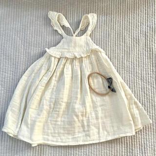 Caramel baby&child  - 【jamie kay ジェイミーケイ】ワンピース ヘアバンドセット 新品未使用