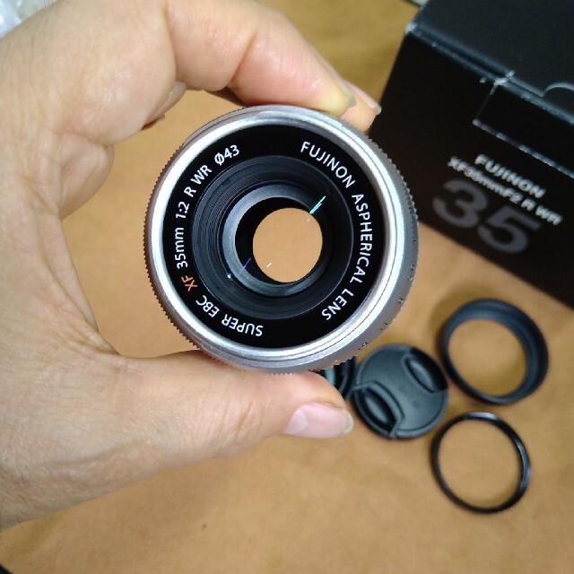 富士フイルム(フジフイルム)のXフジノン 35ミリ F2 実用美品 スマホ/家電/カメラのカメラ(レンズ(単焦点))の商品写真
