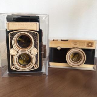 カルディ(KALDI)のKALDI   カルディ 一眼レフ レフレックス カメラ 木箱 木製 チョコ(菓子/デザート)